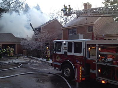 2 Alarm Condo Fire - Sweetbriar Ln, Avon, CT - 1/7/15
