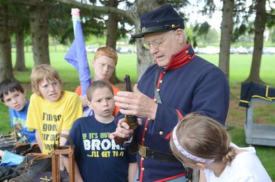 Civil War day at Selinsgrove Intermediate 2014
