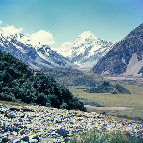 1960 Mt Cook from near Hermitage (LF trans) a.jpg