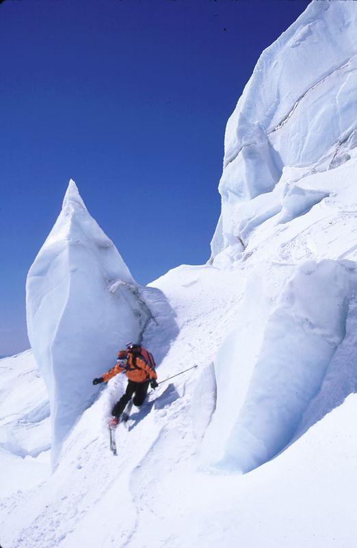 Giant Glacial Seracs