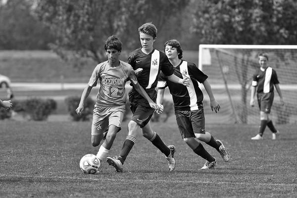 Ascension Soccer vs St. Joe 9/20/14 Loss 2-1