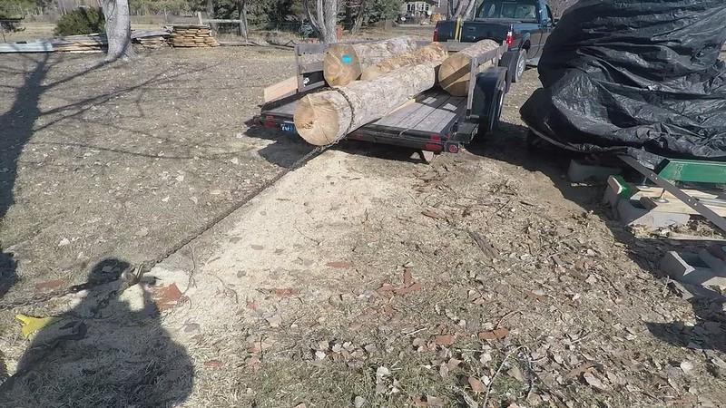 Milling Spruce Logs Mar 17, 2017