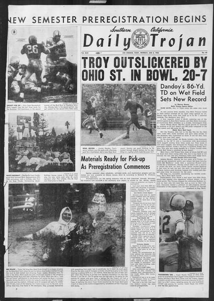 Daily Trojan, Vol. 46, No. 65, January 03, 1955