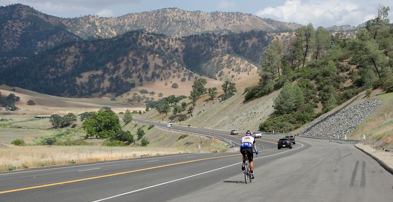 Hwy 20: Descending to Bear Creek Valley
