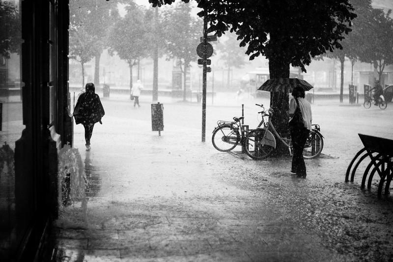 Pluie fine