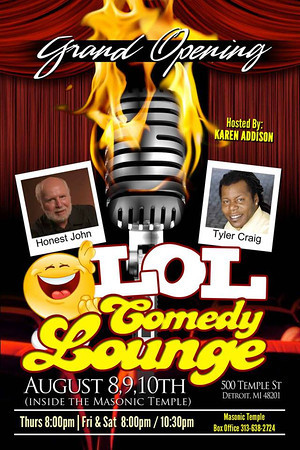 LOL Comedy Lounge  8-8-13 Thursday