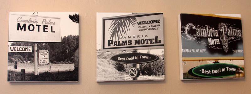 Lobby Art  at Cambria Palms through the years.jpg