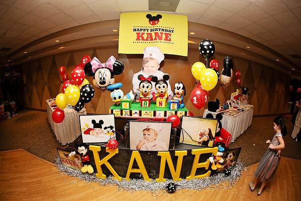 Kane 1st Birthday Party