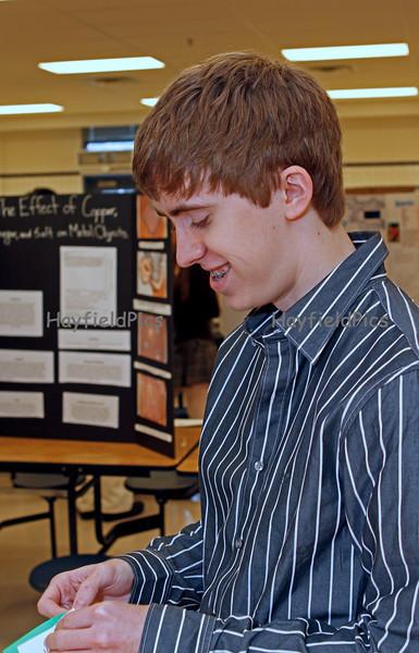 Hayfield Science Fair - Students & Parents 1/23/10