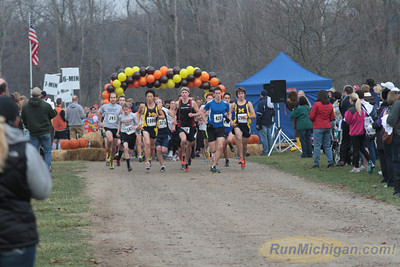 5K Start - 2012 Ann Arbor Turkey Trot
