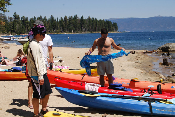 Emerald Bay Kayak and Camping Trip