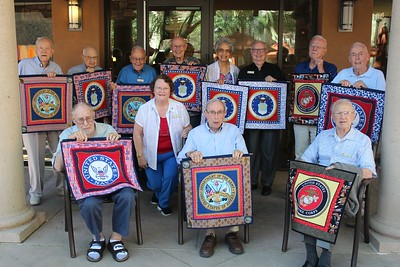 2016  & 2017 - Military Quilts Presentation