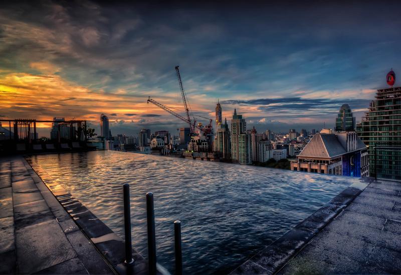 Bangkok Infinity Sunset