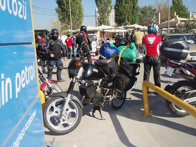 riding and camping north of Ankara, 2009
