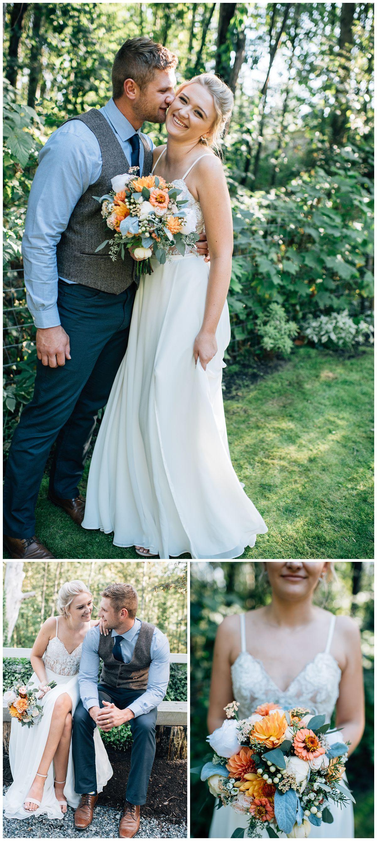 Abbotsford Backyard Wedding with Shing Weddings