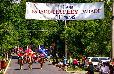Canada, Hatley Canada Day Parade & Fireworks, July 1, 2019