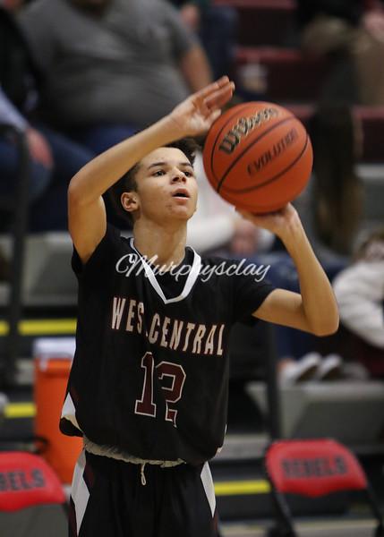 West Central Boys Basketball vs SN 2019