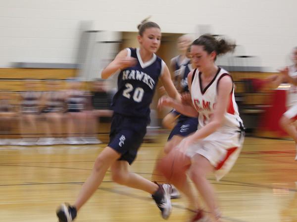 Junior High Girls Basketball 2009-10