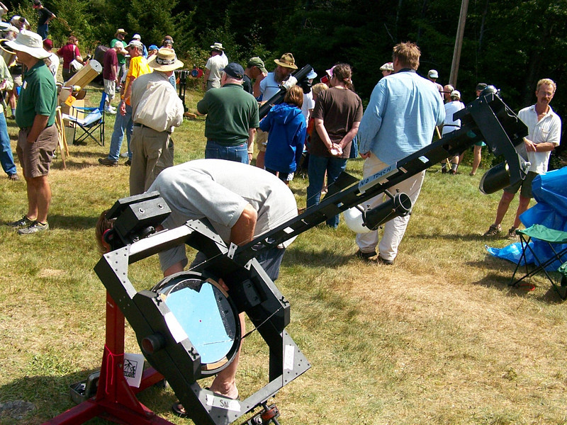 Here is another telescope home made but for sale. I believe the asking price was $ 650.