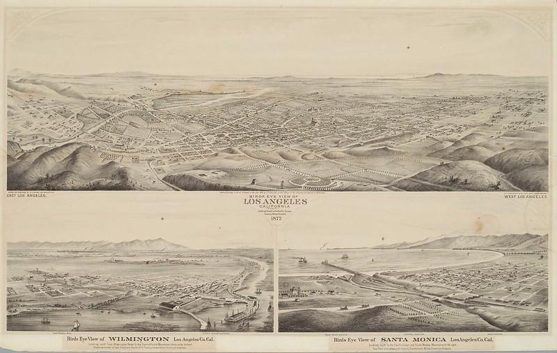 1877-LosAngeles-BirdsEyeView-towardTheOcean.bmp