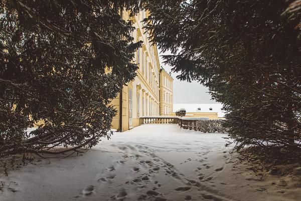 Zamek Valtice :: zima 2017