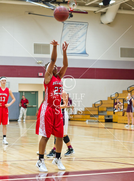 2011-12-12 Basketball Varsity Girls Bellaire @ Cinco Ranch