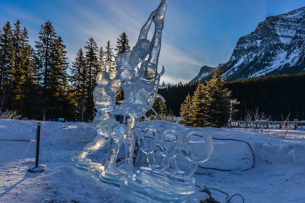 1-20-14 Ice Magic Festival Lake Louise