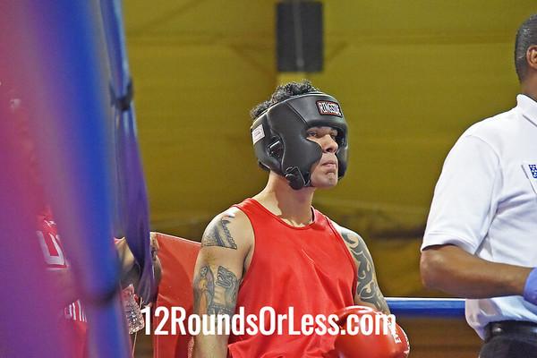 12=Bout #12:   Kato Mongomery, Bob Davis B.C.   vs.   Jose Rodriguez, Akron Boxing Academy,   152 Lbs.