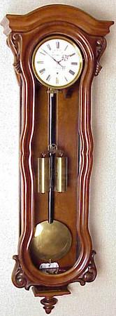 VR-214 - Three Month-duration Austrian Serpentine timepiece by L. Petrzyk in Wien