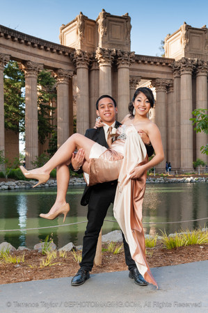 Prom Portraits at the Palace of Fine Arts - Proof
