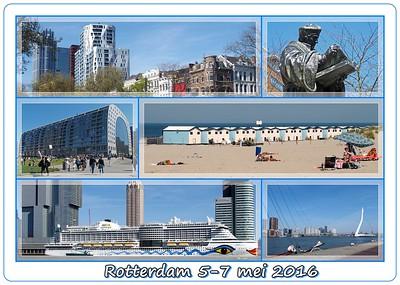 Rotterdam & Hoek van Holland  5-7 mei 2016