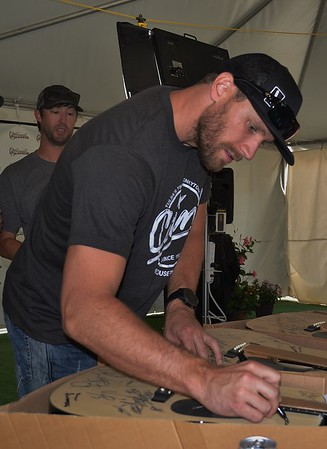 Chase Rice Interview & Guitar Signing