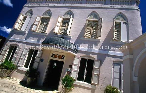 BARBADOS, Bridgetown. Nidhe Israel Synagogue. (2007)