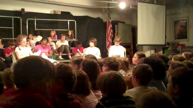 3rd grade plays 2012
