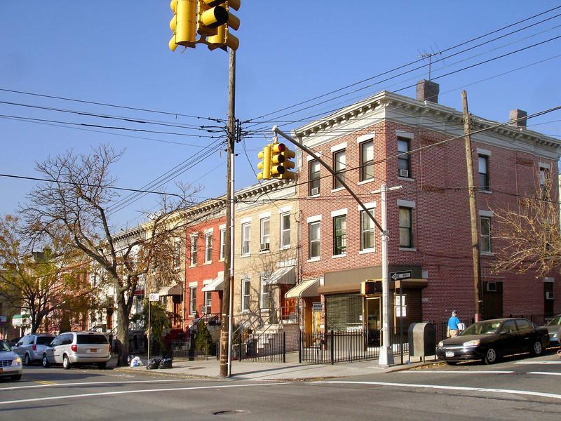 St Nicholas Avenue.