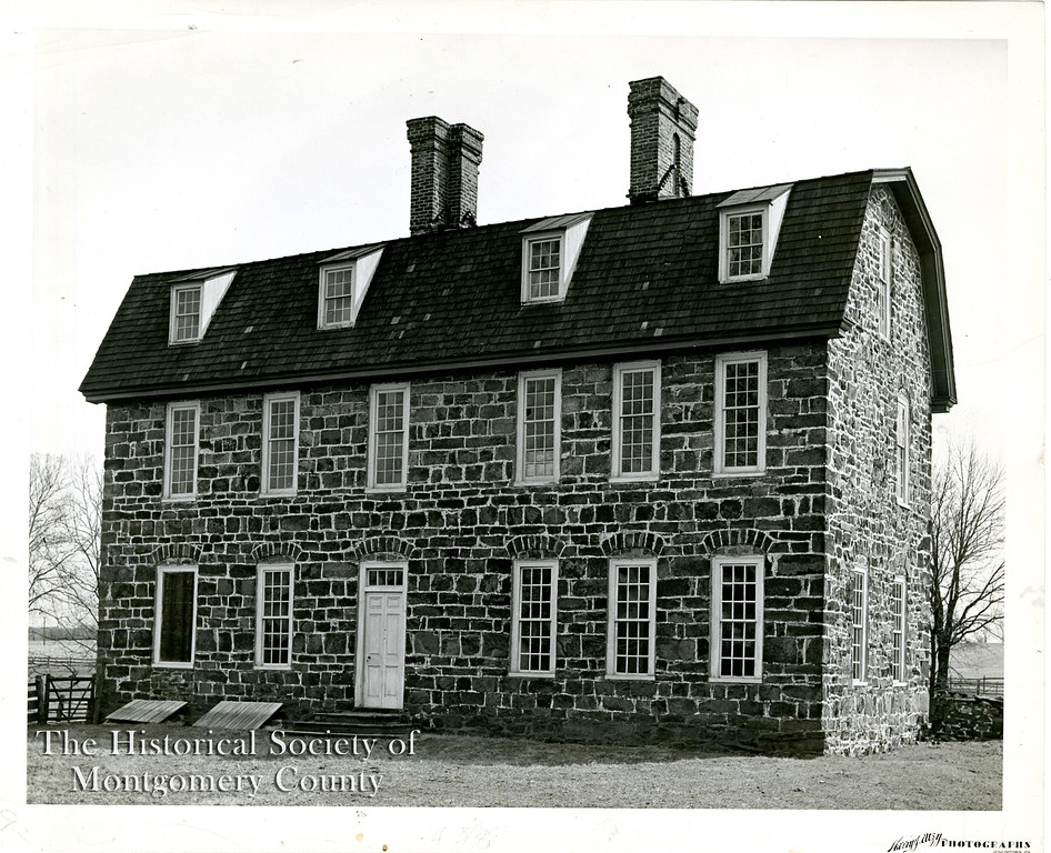 . The undated photo from the Historical Society of Montgomery County shows the Keith House at Graeme Park in Horsham. According to graemepark.org, it is the only surviving residence of a Colonial Pennsylvania Governor.