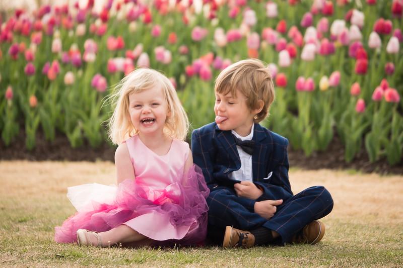 Tiptoe Through the Tulips - Easter 2021