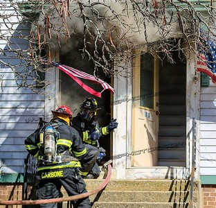 3 Alarm Structure Fire - 1017 Douglas Pike, Burrillville, RI - 3/3/17