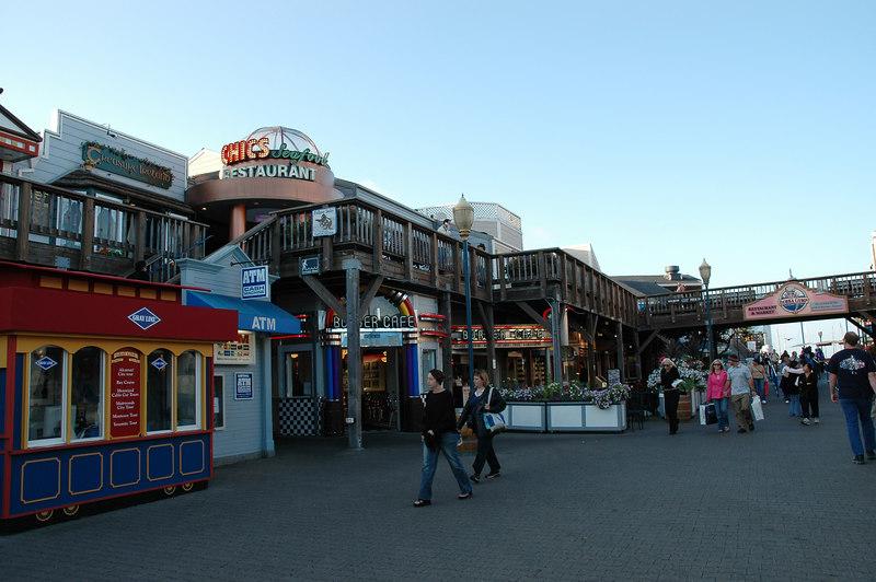 漁人碼頭的復古商圈