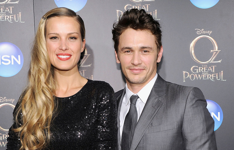 ". Petra Nemcova and James Franco attend the ""Oz The Great And Powerful\"" VIP screening at the Crosby Street Hotel on March 5, 2013 in New York City.  (Photo by Jamie McCarthy/Getty Images)"
