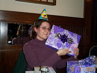 Lisa's Birthday - December 12, 2001