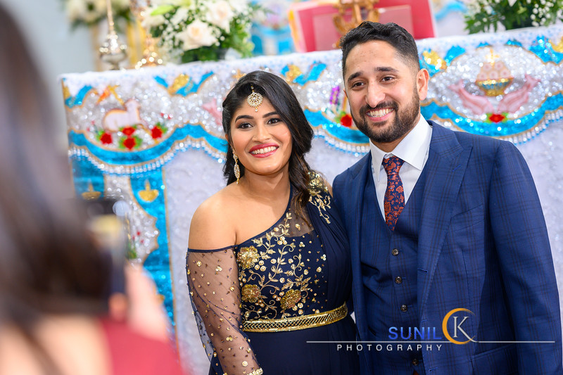Nita and Unni Engagement Ceremony