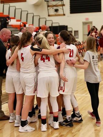 US Girls Basketball vs Ocosta Regionals 2-23-19
