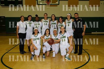 Girls JV & V Basketball 11/30/18