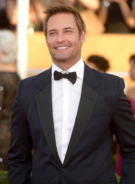 . Josh Holloway arrives at the 20th Annual Screen Actors Guild Awards  at the Shrine Auditorium in Los Angeles, California on Saturday January 18, 2014 (Photo by Michael Owen Baker / Los Angeles Daily News)