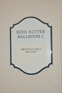 Brewer Family Reunion Banquet July 5, 2014