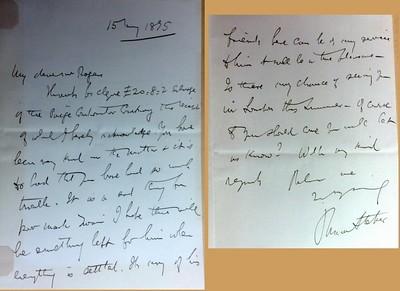 Stoker Letter