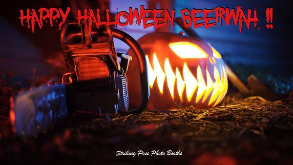 Beerwah Halloween Booth 1