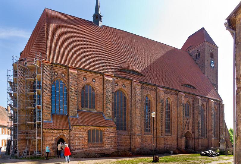 Werben, Johanniskirche, Nordseite