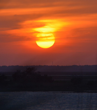 Sunset on Tybee Island Ga 5/9/15